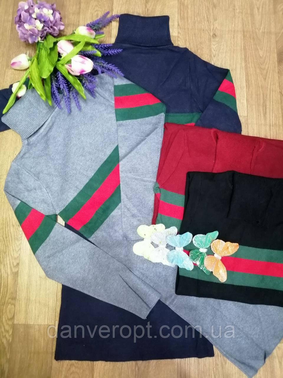 Платье женское модное стильная полоска размер универсальный 42-46 купить оптом со склада 7км Одесса