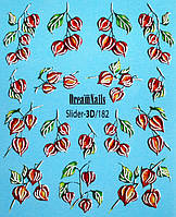 Слайдер-дизайн DreamNails Slider-3D/182