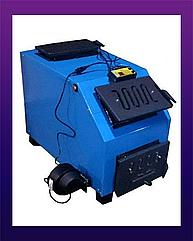 Котел длительного горения Холмова Огонек КОТВ, 19 кВт (СТАЛЬ 4 мм)