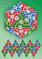 Набор алмазной вышивки  ТМ Вдохновение НОВОГОДНИЙ ШАР IP213