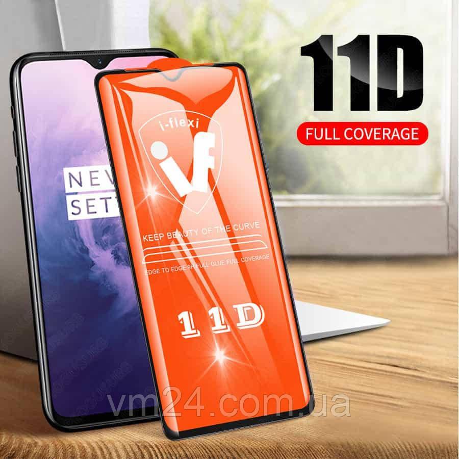 Защитное стекло 11D   Samsung A50 (на весь экран)