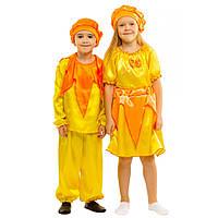 Детский карнавальный костюм Солнышко Лучик для детей 4,5,6,7,8 лет Девочек мальчиков Сонечко 341