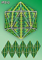 Набор алмазной вышивки  ТМ Вдохновение НОВОГОДНИЙ ШАР IP212