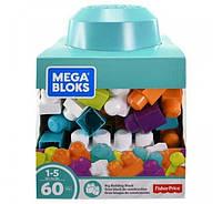Mega Bloks Конструктор 60 кубиков Первые строители Imagination Block Buildable