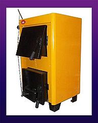 Твердотопливный котел Огонек КОТВ-14 кВт (СТАЛЬ 4 мм)