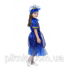 Детский новогодний костюм Ночка, Ночь, Звездочка, Звезда. Карнавальный костюм для девочек. 344, фото 3