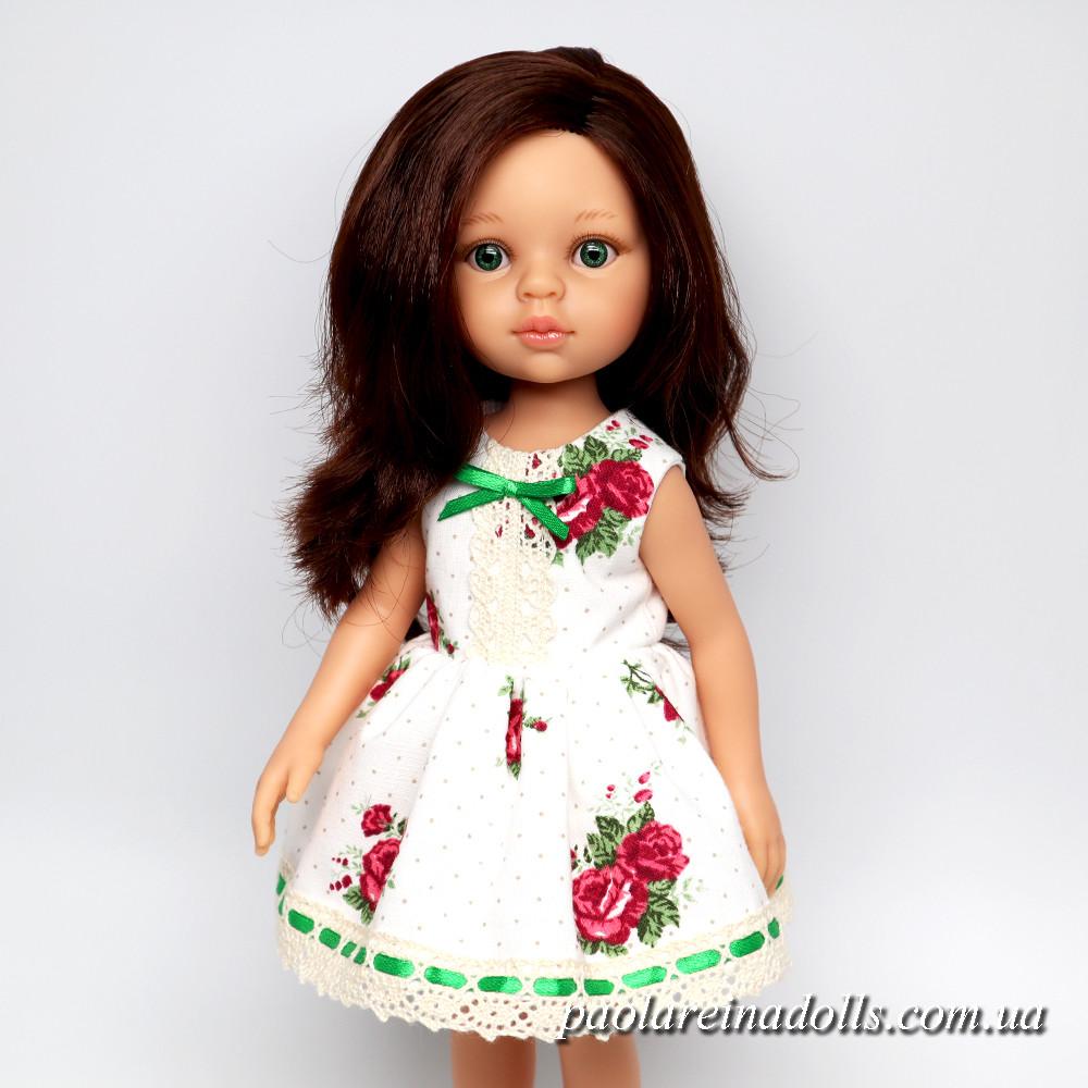 """Платье """"Розочки"""" для кукол Паола Рейна"""