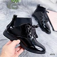 Ботинки женские Ria черные , женская обувь
