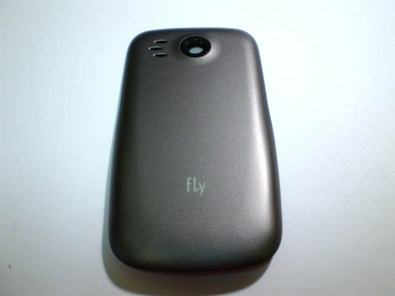 Крышка батареи серая Fly IQ250 (оригинал)