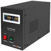ИБП LogicPower LPY-B-PSW-500VA+ (350Вт)5A/10A, с правильной синусоидой, 12V