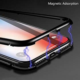 Магнитный чехол Full Glass 360 (Magnetic case) для Huawei Nova 4