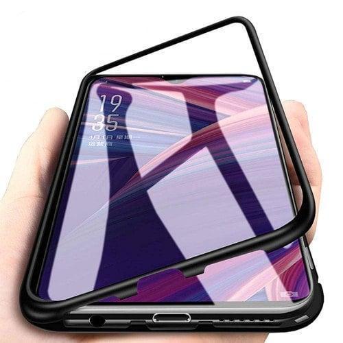 Магнитный чехол Full Glass 360 (Magnetic case) для Oneplus 6T