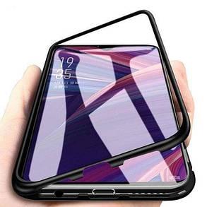 Магнитный чехол Full Glass 360 (Magnetic case) для Oneplus 6T, фото 2