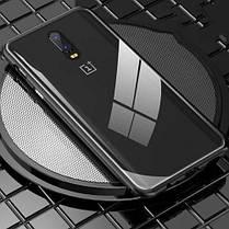 Магнитный чехол Full Glass 360 (Magnetic case) для Oneplus 6T, фото 3