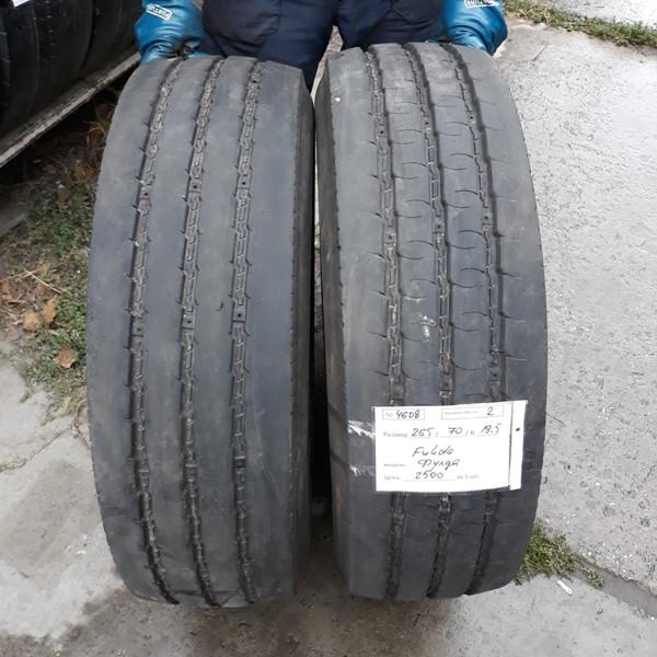 Грузовые шины б.у. (грузовая резина бу) 265.70.r19.5 Fulda Regiocontrol Фулда