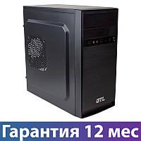 Корпус для ПК (системный блок) GTL 1603 Black, 400W, 120mm, Micro ATX / Mini ITX