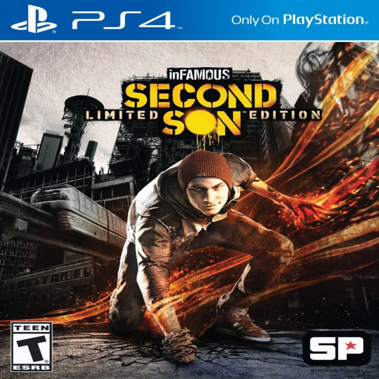 InFamous Second Son RUS PS4 (NEW)