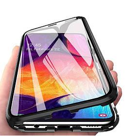 Магнитный чехол Full Glass 360 (Magnetic case) для Samsung Galaxy A50