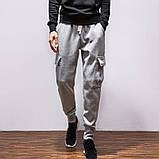Хлопковый штаны с карманами на резинке, фото 2