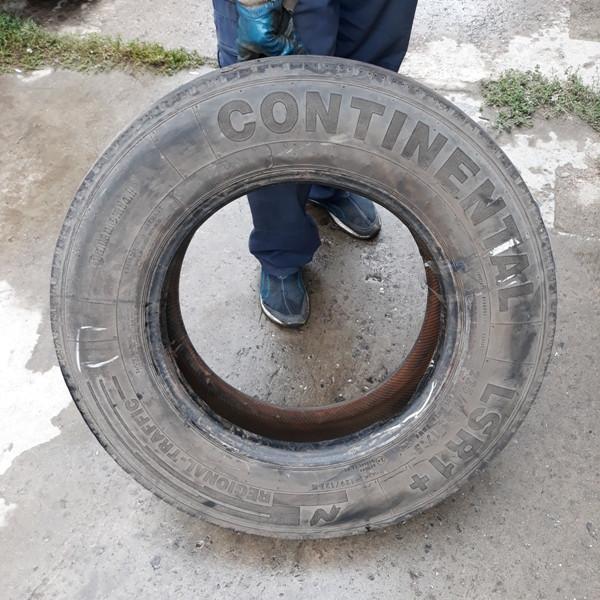 Шины б.у. 225.75.r17.5 Continental LSR1 Континенталь. Резина бу для грузовиков и автобусов