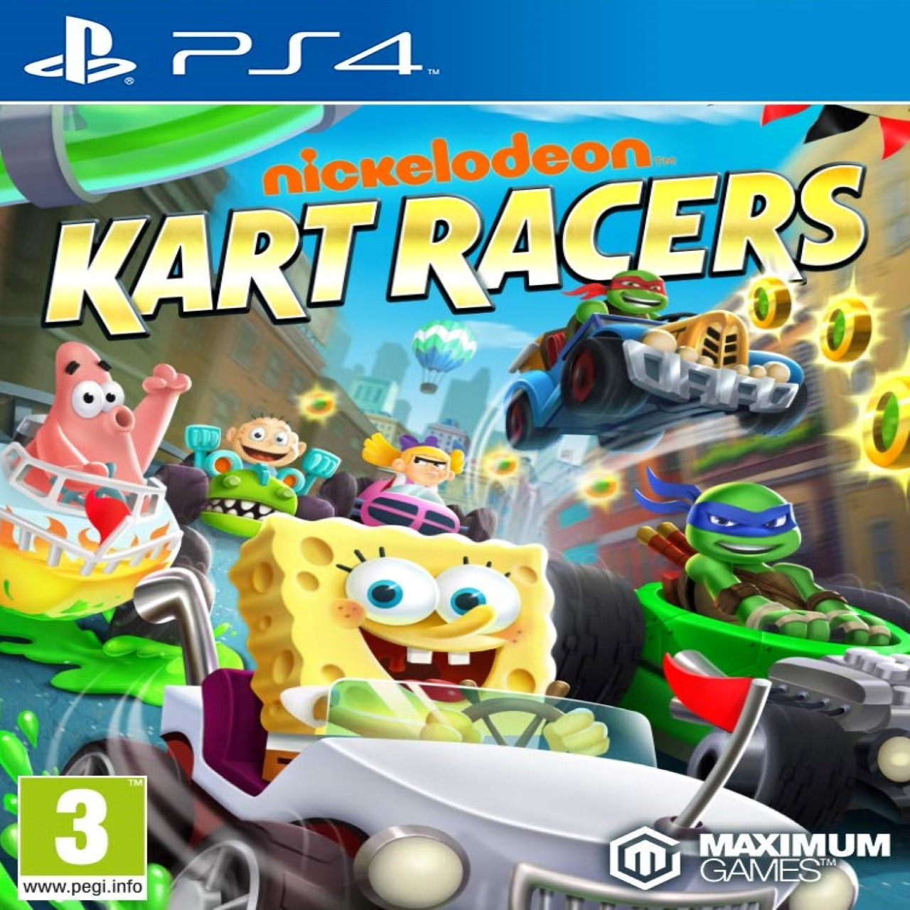 Nickelodeon Kart Racers ENG PS4