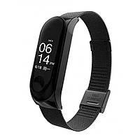 Стальной браслет для Xiaomi Mi Band 2 — Black