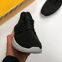 Кроссовки мужские Adidas Runfalcont летние реплика Кеды ботинки Nike Черно-белый