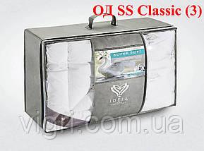 Ковдра лебединий пух, полуторна 140х210, тм. Ідея. «IDEIA» Super Soft Classic, фото 2
