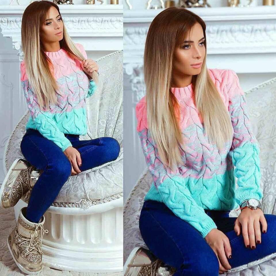 Женский свитер ку3179