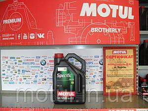 Моторное масло Motul specific cng/lpg 5W40 5л