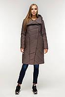 Пуховик  зимний, выполнен  из плащевой ткани, полуприлегающего силуэта с втачными рукавами с 44 по 58 размер, фото 9