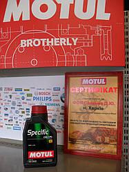 Моторное масло Motul specific cng/lpg 5W40 1л