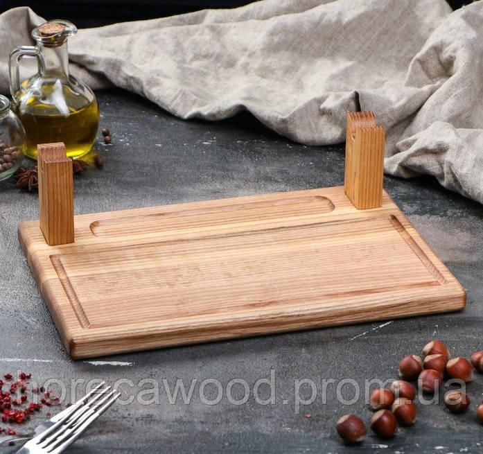 Доска для подачи шашлыка 30 х 20 см