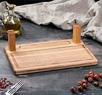 Блюда для подачи шашлыка 30 х 20 см, фото 1