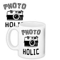 Кружка с принтом Photoholic 330 мл (KR_18S009)