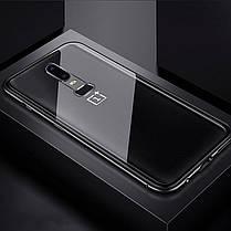 Магнитный чехол Full Glass 360 (Magnetic case) для Oneplus 6, фото 2