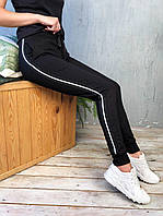 Стильные женские спортивные штаны с тонким лампасом | Топ продаж