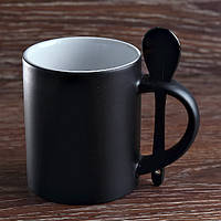Чашка сублимационная. Хамелеон с ложкой/330мл