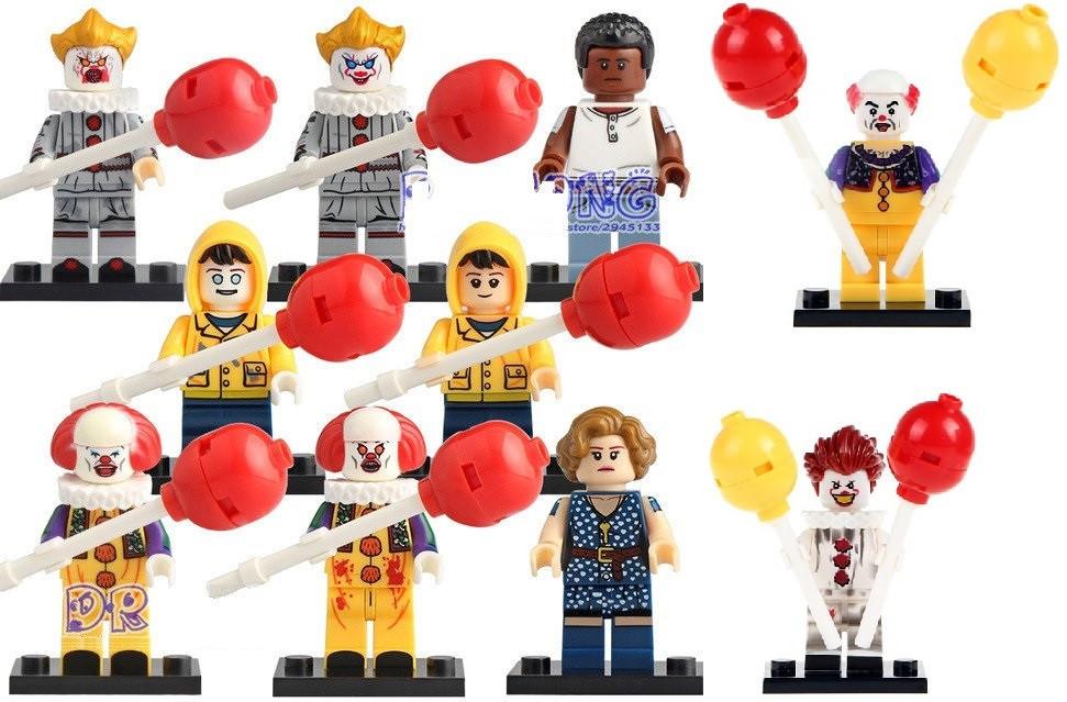 Фигурки Оно Пеннивайз Лего Lego