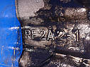 Головка блока цилиндров (ГБЦ) Mazda 323 BJ 626 GF RF2A 2,0 дизель, фото 6