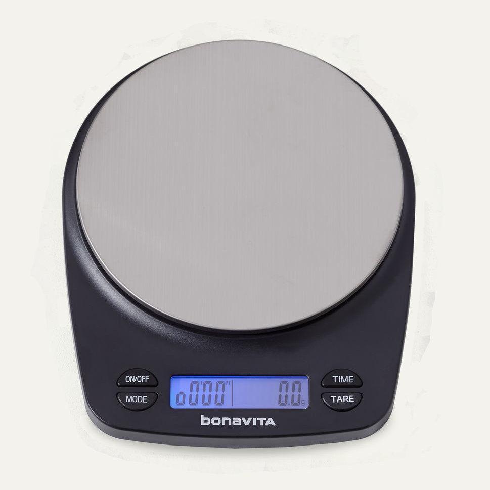 Весы для бариста Bonavita, водонепроницаемые с таймером