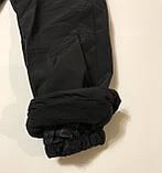 Штаны утеплённые (плащёвка) 104-128, фото 3