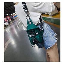 Слінг сумка HiFlash в корейському стилі жіноча зелений, фото 2