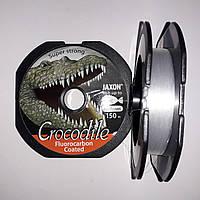 Jaxon Crocodile Fluorocarbon Coated 150m 0.22mm/9kg