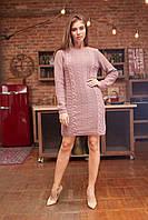 Вяное платье прямого кроя, фото 1