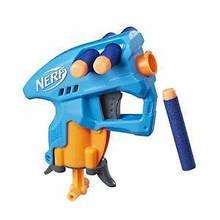 "Бластер Hasbro, Нёрф, Елит, Нанофайр, голубой - Hasbro, Nerf, ""N-Strike Elite"", Nanofire Blue"