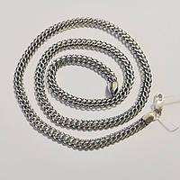 Мужская серебряная цепочка весом 22.09 длиной 55