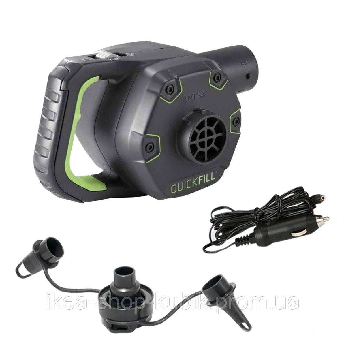 Электрический насос для надувания Intex 66642 аккумуляторный, перезаря 2