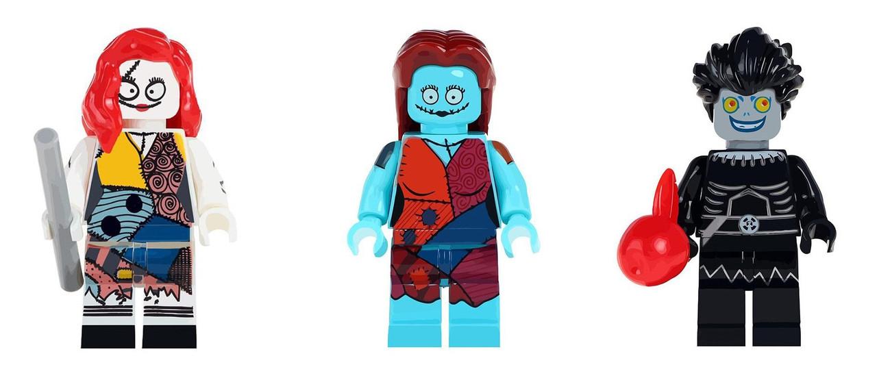 Кошмар перед Рождеством The Nightmare Before Christmas лего lego