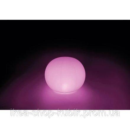 Светодиодная декоративная подсветка, фонарь Intex 68695 «Глобус& 5